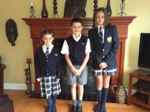 Grades 5, 3 and 1 - First day!